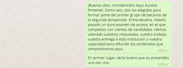 WhatsApp MdT