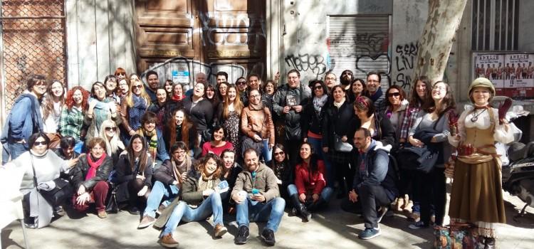 El día que recorrí Madrid con medio centenar de ministéricos