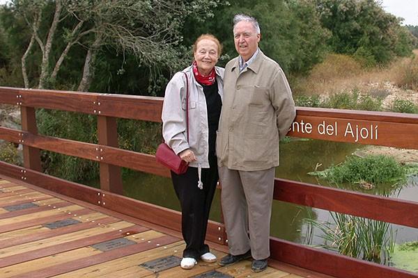 Odón Betanzos y Amalia Migues